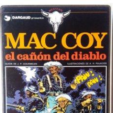 Cómics: MAC COY - EL CAÑON DEL DIABLO. Lote 218734360