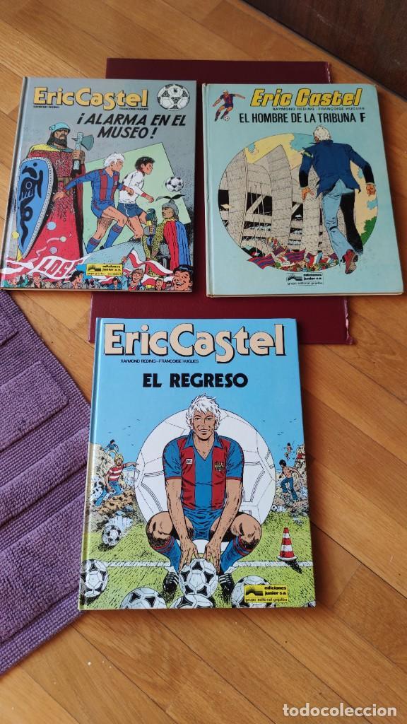 ERIC CASTEL EN CASTELLANO Nº 5-10-14 (Tebeos y Comics - Grijalbo - Eric Castel)