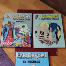 Cómics: ERIC CASTEL EN CASTELLANO Nº 5-10-14. Lote 218771425