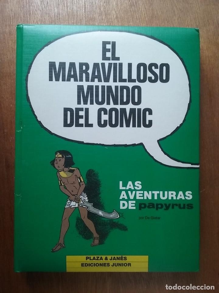EL MARAVILLOSO MUNDO DEL COMIC, LAS AVENTURAS DE PAPYRUS 2, DE GIETER, PLAZA JANES EDICIONES JUNIOR (Tebeos y Comics - Grijalbo - Papyrus)