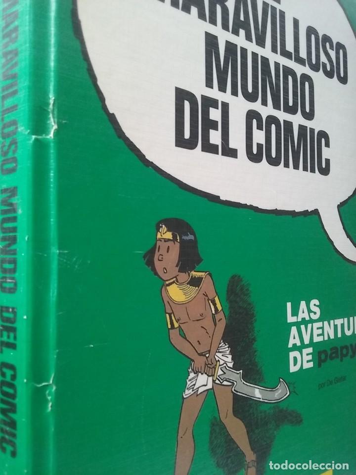 Cómics: EL MARAVILLOSO MUNDO DEL COMIC, LAS AVENTURAS DE PAPYRUS 2, DE GIETER, PLAZA JANES EDICIONES JUNIOR - Foto 2 - 218848215