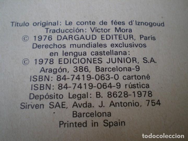 Cómics: EL CUENTO DE HADAS DE IZNOGUD. LAS AVENTURAS DEL GRAN VISIR 4. GRIJALBO DARGAUD. 1978. - Foto 4 - 218893658