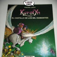 Cómics: KAROLYN Nº 1, EL CASTILLO DE LOS MIL DIAMANTES, PHILIPPE LUGUY, ED. GRIJALBO AÑO 1991. Lote 218900528