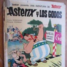 Cómics: ASTERIX Y LO GODOS - EDITORIAL BRUGUERA 1973. Lote 218933916