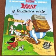 Cómics: ASTERIX Y LO NUNCA VISTO. RENE GOSCINNY , ALBERT UDERZO.. Lote 218939775