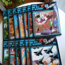 Cómics: COLECCIÓN COMPLETA 13 LIBROS ERASE UNA VEZ EL HOMBRE. Lote 218940198