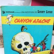 Comics : CANYON APACHE . LUCKY LUKE. Lote 219373355