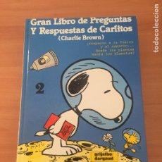 Cómics: GRAN LIBRO DE LAS PREGUNTAS Y RESPUESTAS DE CARLITOS. Lote 219624116