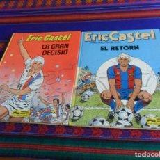 Cómics: ERIC CASTEL NºS 8 LA GRAN DECISIÓ Y 10 EL RETORN EN CATALÁ CATALÁN. GRIJALBO 1985.. Lote 219693871