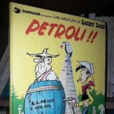 Comics: COMIC UNA AVENTURA DE LUCKY LUKE: PETROLI (GRIJALBO / DARGAUD / CATALÁ). Lote 219708313