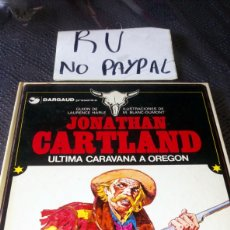 Cómics: GRIJALBO DARGAUD JONATHAN CARTLAND ÚLTIMA CARAVANA A OREGON TAPA DURA. Lote 219725060