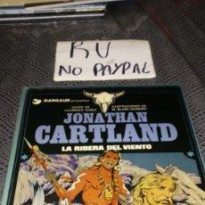 Cómics: GRIJALBO DARGAUD JONATHAN CARTLAND LA RIBERA DEL VIENTO TAPA DURA. Lote 219753510