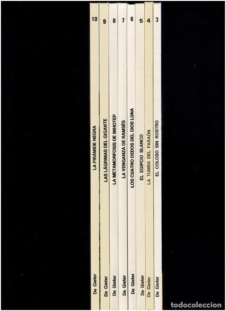 Cómics: * PAPYRUS * N º 3, 4, 5, 6, 7, 8, 9,10 COMPLETA * JUNIOR GRIJALBO 1988 / 1991 * IMPECABLE * - Foto 2 - 219764808
