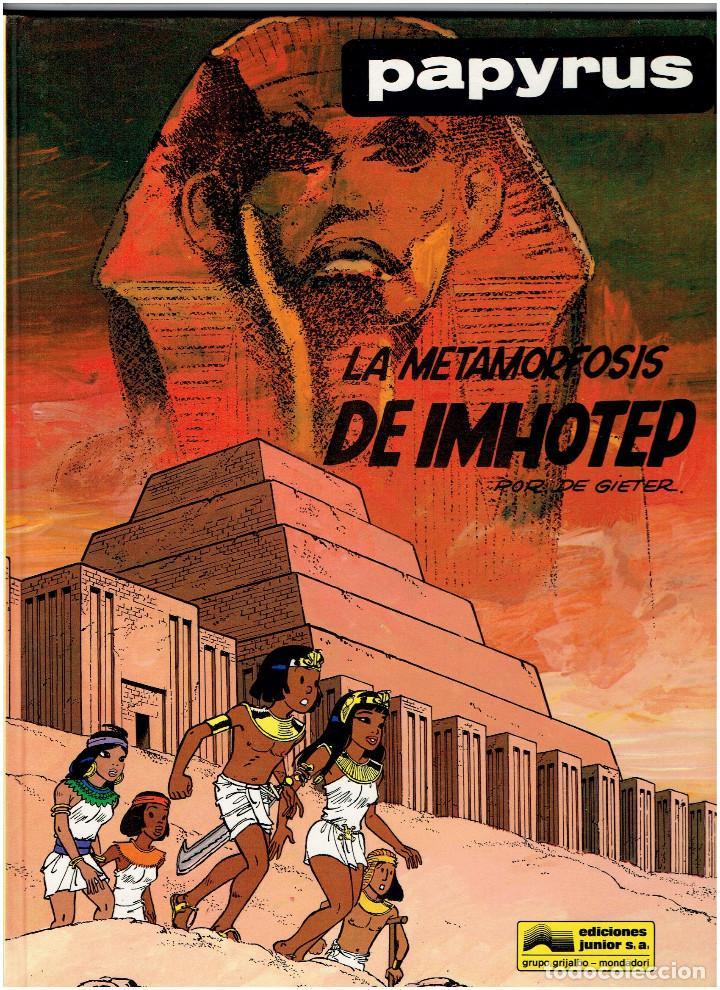 Cómics: * PAPYRUS * N º 3, 4, 5, 6, 7, 8, 9,10 COMPLETA * JUNIOR GRIJALBO 1988 / 1991 * IMPECABLE * - Foto 8 - 219764808