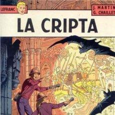 Cómics: LEFRANC LA CRIPTA Nº 9 GRUPO EDITORIAL GRIJALBO EDICIONES JUNIOR. Lote 219776376