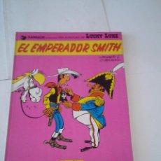 Cómics: LUCKY LUKE - EL EMPERADOR SMITH - NUMERO 1 - 1976 - BUEN ESTADO - DARGAUD/GRIJALBO. Lote 219835978