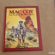 Cómics: MAC COY Nº 21, TAPA DURA, EDITORIAL NORMA, ÚLTIMO NÚMERO. Lote 219848395