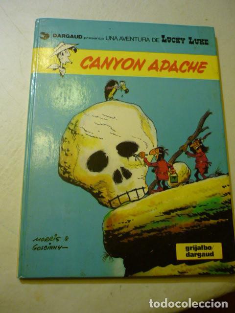 LUCKY LUKE Nº 17 - CANYON APACHE - GOSCINNY//MORRIS, 1981 - TAPA DURA (Tebeos y Comics - Grijalbo - Lucky Luke)
