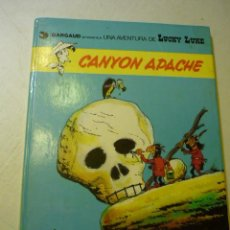 Cómics: LUCKY LUKE Nº 17 - CANYON APACHE - GOSCINNY//MORRIS, 1981 - TAPA DURA. Lote 219904776