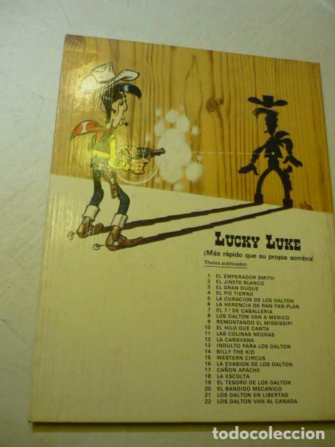 Cómics: LUCKY LUKE Nº 17 - CANYON APACHE - GOSCINNY//MORRIS, 1981 - TAPA DURA - Foto 3 - 219904776