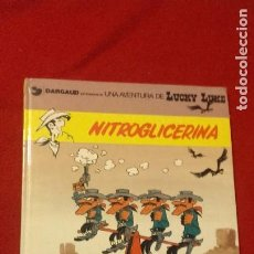 Cómics: LUCKY LUKE 35 - NITROGLICERINA - MORRIS & LO HARTOG- CARTONE - EN CATALAN. Lote 219922325
