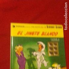 Cómics: LUCKY LUKE 2 - EL JINETE BLANCO - MORRIS & GOSCINNY - CARTONE -. Lote 219922340