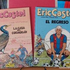 Cómics: *LOTE 2 COMICS ERIC CASTEL. Nº 10 Y 12 * ED. JUNIOR AÑO 1979 * EXCELENTES *. Lote 220128940