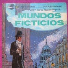 Cómics: TEBEO MUNDOS FICTICIOS UNA AVENTURA DE VALERIAN AGENTE ESPACIO TEMPORAL 1981. Lote 220237701