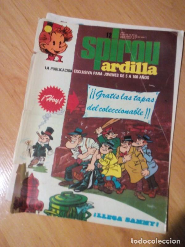 SPIROU ARDILLA -REVISTA NM 12 AÑO 1979 MUNDIS ROB-VEL ROBERT VELTER (Tebeos y Comics - Grijalbo - Spirou)