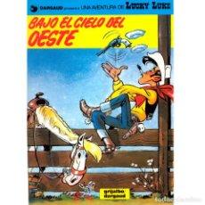 Cómics: LUCKY LUKE 52. BAJO EL CIELO DEL OESTE. GRIJALBO. Lote 220431786