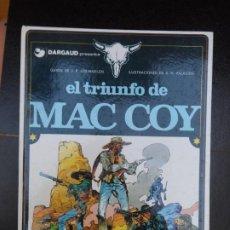 Cómics: MAC COY Nº 4 EL TRIUNFO EDITORIAL GRIJALBO TAPA DURA. Lote 220508586