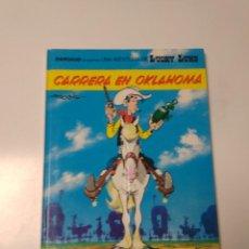 Cómics: LUCKY LUKE NÚMERO 39 CARRERA EN OKLAHOMA 1989 GRIJALBO-DARGAUD. Lote 220519546