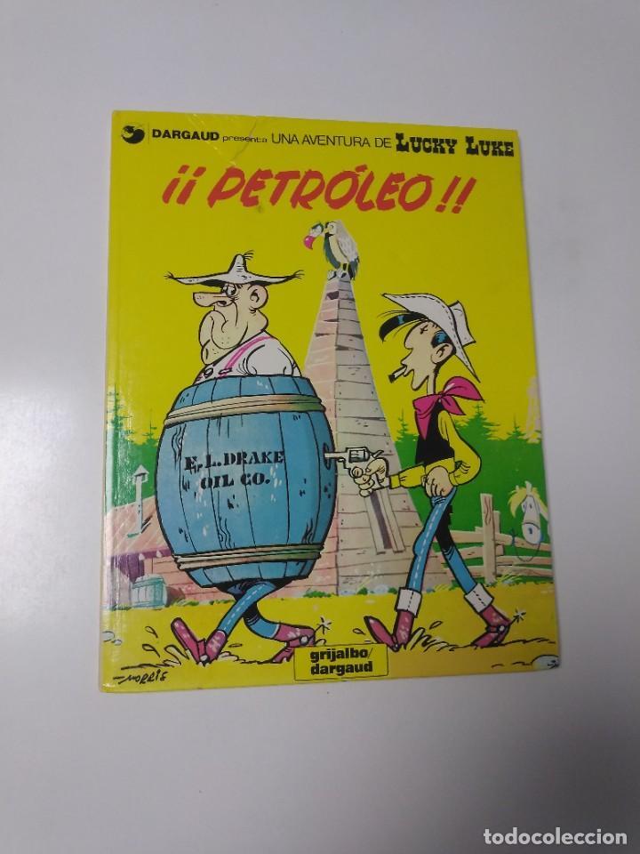LUCKY LUKE NÚMERO 37 PETRÓLEO 1988 GRIJALBO-DARGAUD (Tebeos y Comics - Grijalbo - Lucky Luke)