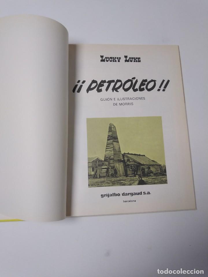 Cómics: Lucky Luke número 37 Petróleo 1988 Grijalbo-Dargaud - Foto 4 - 220520472