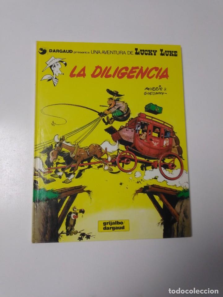 LUCKY LUKE NÚMERO 24 LA DILIGENCIA 1983 GRIJALBO-DARGAUD (Tebeos y Comics - Grijalbo - Lucky Luke)