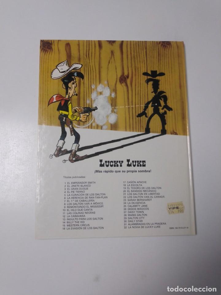 Cómics: Lucky Luke número 24 La Diligencia 1983 Grijalbo-Dargaud - Foto 2 - 220521130