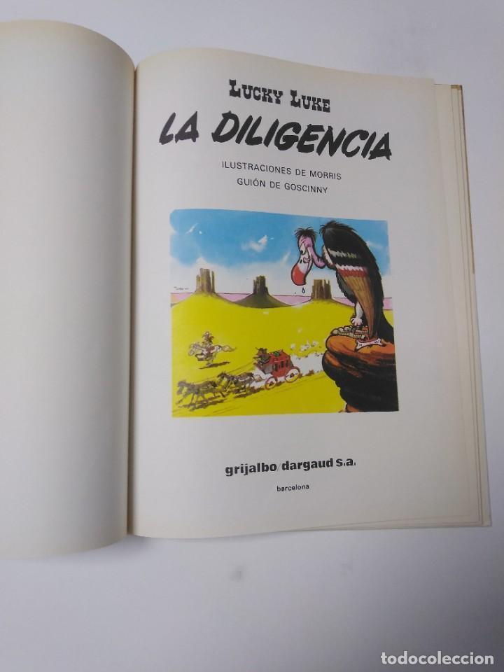 Cómics: Lucky Luke número 24 La Diligencia 1983 Grijalbo-Dargaud - Foto 4 - 220521130
