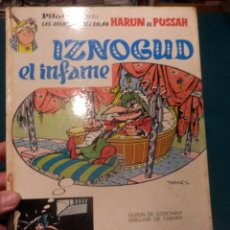 Cómics: IZNOGUD EL INFAME - CÓMIC DE GOSCINNY & TABARY - BRUGUERA 1971 - TRADUCCIÓN VICTOR MORA. Lote 220573700