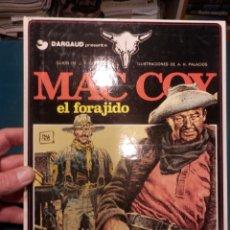 Cómics: MAC COY EL FORAJIDO - Nº 12 - CÓMIC - GRIJALBO 1985 - TAPA DURA. Lote 220574388