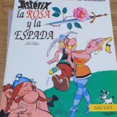 Cómics: ASTERIX LA ROSA Y LA ESPADA. Lote 220627285