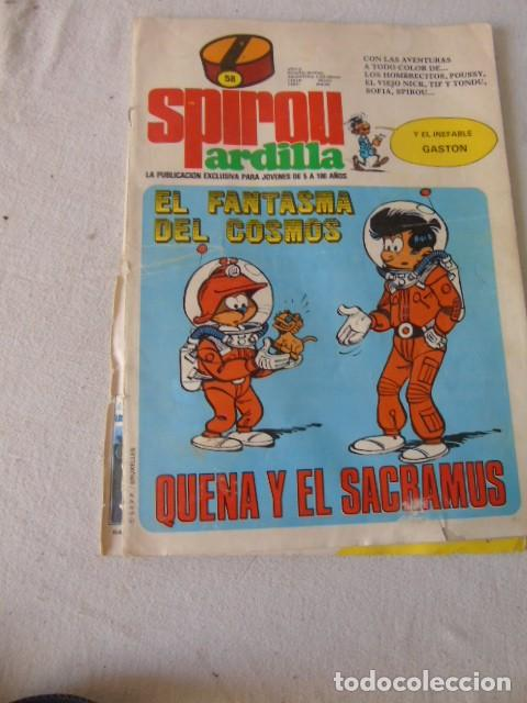 SPIROU ARDILLA COMIC N 58 (Tebeos y Comics - Grijalbo - Spirou)