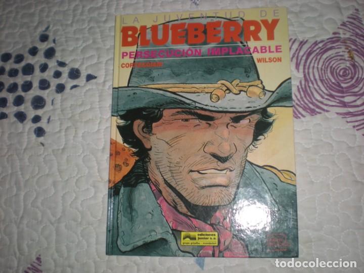 LA JUVENTUD DE BLUEBERRY-PERSECUCIÓN IMPLACABLE-Nº30;CORTGEGGIANI/WILSON;GRIJALBO;1991 (Tebeos y Comics - Grijalbo - Blueberry)