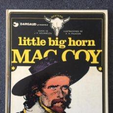 Cómics: LITTLE BIG HORN - MAC COY Nº 8 - 1ª EDICIÓN - GRIJALBO / DARGAUD - 1981 - ¡MUY BUEN ESTADO!. Lote 220881310
