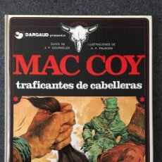 Cómics: TRAFICANTES DE CABELLERAS - MAC COY Nº 7 - 1ª EDICIÓN - GRIJALBO / DARGAUD - 1980 - ¡COMO NUEVO!. Lote 220882062