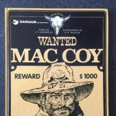 Cómics: WANTED MAC COY - MAC COY Nº 5 - 1ª EDICIÓN - GRIJALBO / DARGAUD - 1980 - ¡MUY BUEN ESTADO!. Lote 220883471