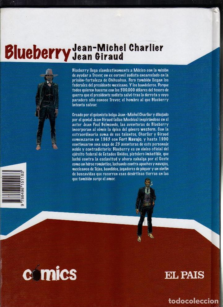 Cómics: BLUEBERRY POR JEAN-MICHEL CHARLIER Y JEAN GIRAUD - EL HOMBRE QUE VALÍA 500.000 $ · Año 2005 - - Foto 3 - 220956713