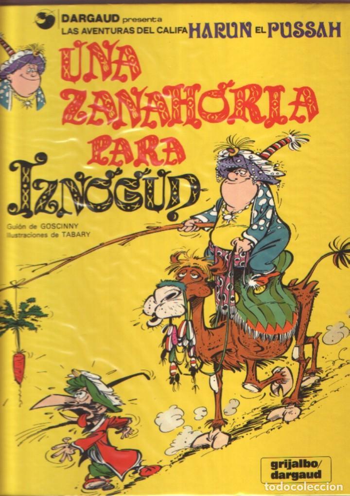LAS AVENTURAS DEL CALIFA HARUN EL PUSSAH - EL GRAN VISIR IZNOGUD COMPLETA 1 AL 19. GRIJALBO (Tebeos y Comics - Grijalbo - Iznogoud)
