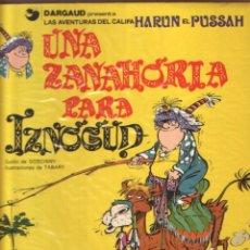 Cómics: LAS AVENTURAS DEL CALIFA HARUN EL PUSSAH - EL GRAN VISIR IZNOGUD COMPLETA 1 AL 19. GRIJALBO. Lote 221092118
