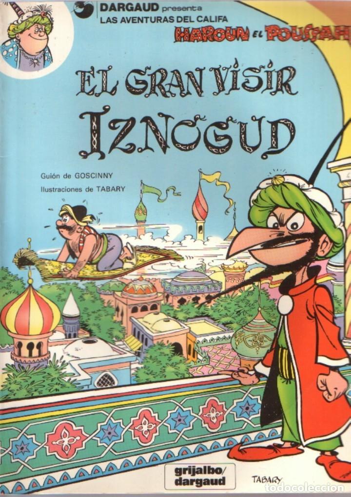 Cómics: las aventuras del Califa Harun el Pussah - El gran visir Iznogud completa 1 al 19. Grijalbo - Foto 2 - 221092118