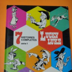 Cómics: LUCKY LUKE 7 HISTOIRES COMPLETES - IDIOMA FRANCES - DARGAUD 1974 .. Lote 221112156